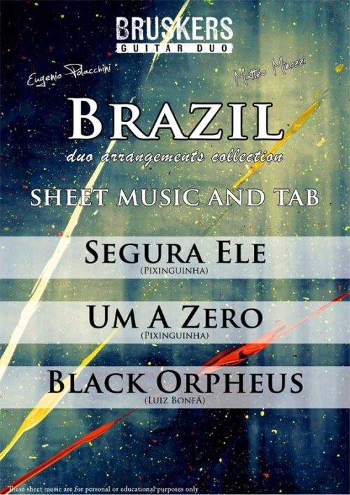 BRAZIL Collection by Bruskers Guitar Duo