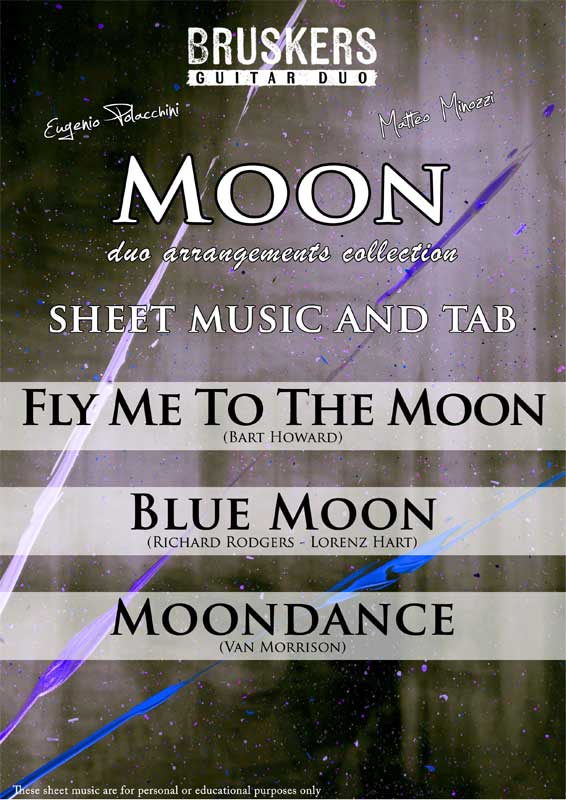MOON Collection by Bruskers Guitar Duo