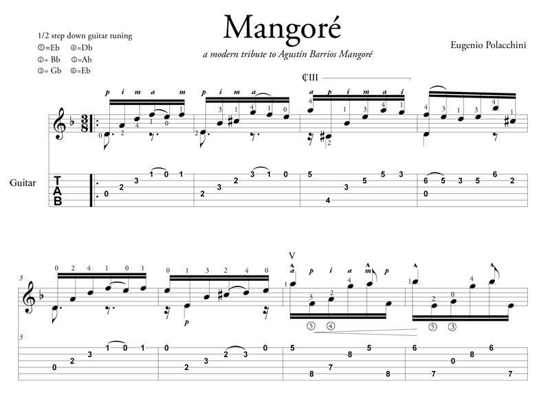Mangoré - by Eugenio Polacchini - fragment