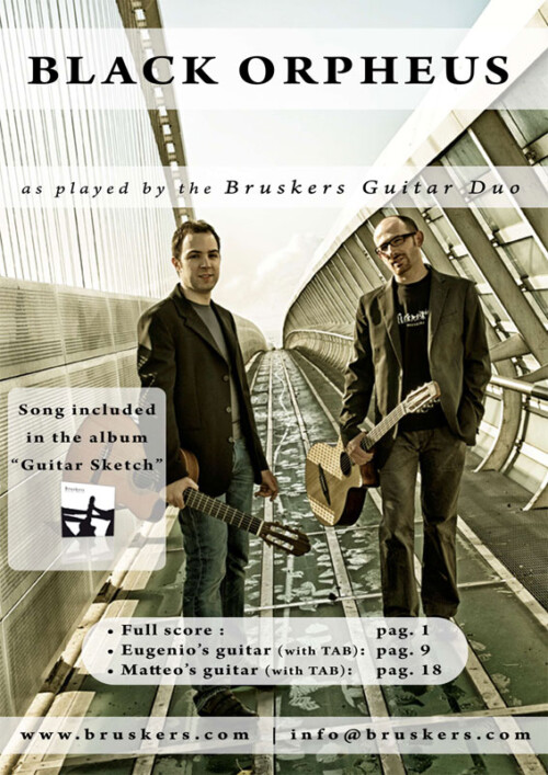 Black Orpheus by Bruskers Guitar Duo