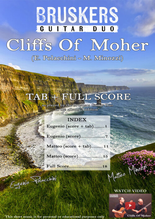 Cliffs of Moher by Bruskers Guitar Duo