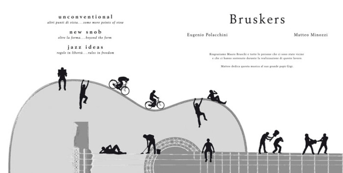 Guitar Sketch CD by Bruskers Guitar Duo