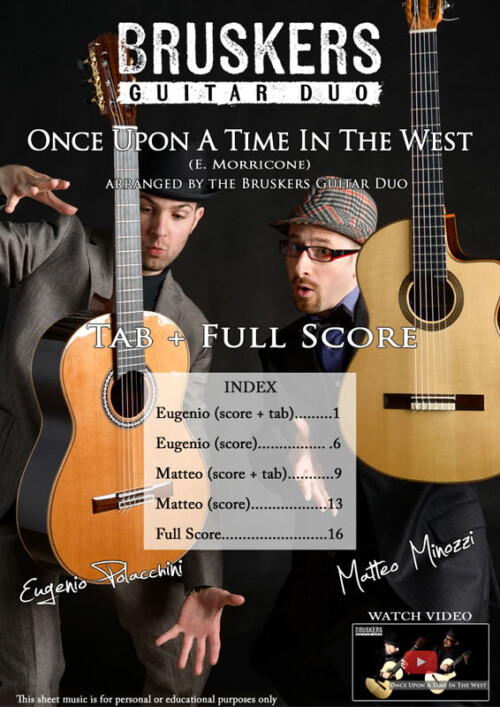 Once Upon a Time in the West by Bruskers Guitar Duo