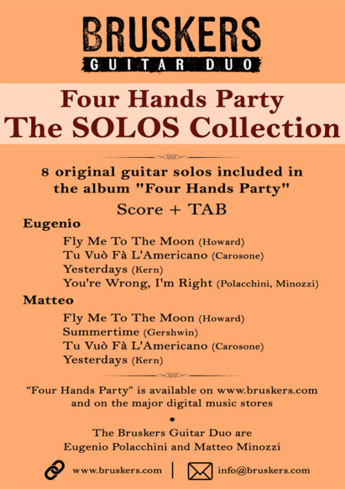 The SOLOS Guitar collection by Bruskers Guitar Duo
