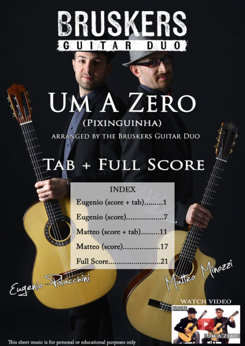 Um A Zero by Bruskers Guitar Duo