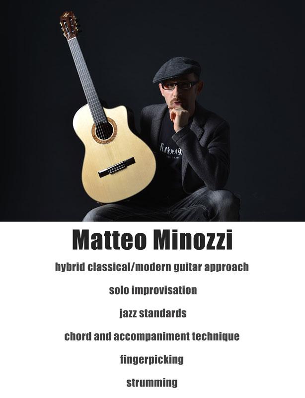 Matteo Minozzi lezioni online