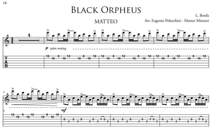 manha de carnaval aka black orpheus by Bruskers Guitar Duo